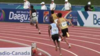 IAAF World Junior Championships Moncton 2010 - 400 men Heat 2 Marco Kaiser 47.06