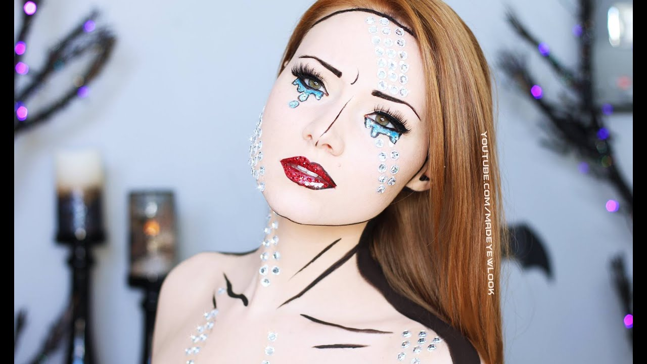 Comic Book Makeup Tutorial 4