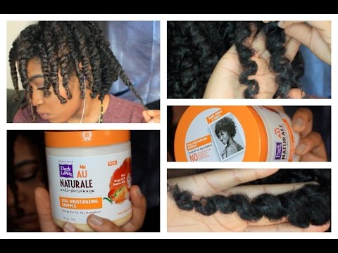 Natural Hair: Dark & Lovely Au Naturale Anti-Shrinkage (TWIST OUT RESULTS)