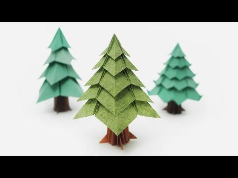 Origami Tree (Jo Nakashima) - Christmas Tree
