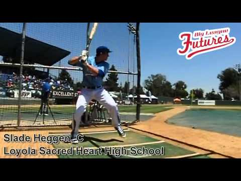 SLADE HEGGEN, C, LOYOLA SACRED HEART HIGH SCHOOL, SWING MECHANICS AT 200 FPS - 10/02/2013