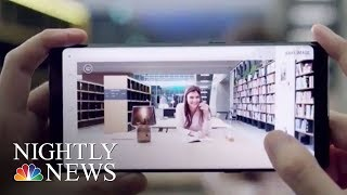 Samsung Unveils New Galaxy Note 8, Kicking Off Smartphone Wars | NBC Nightly News