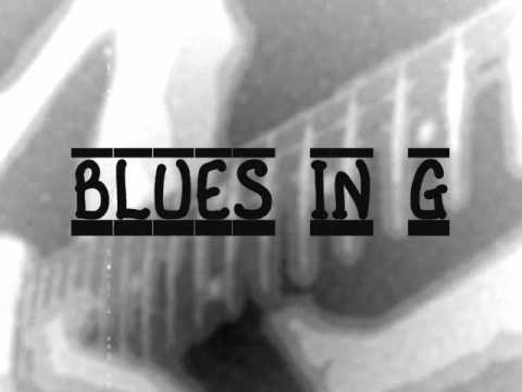 Blues Guitar Backing Track In G (Fast)
