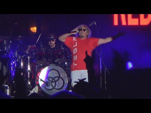 Sammy Hagar - Right Now - Las Vegas 10-18-14