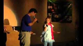 "[From_www.metacafe.com]Jackie Evancho and James Bondy singing being ""Being Fiends"" .avi"