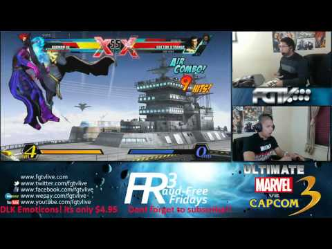UMvC3 - Combofiend VS. Col. Filipino Champ FFF FT20 + FT10 (1.5 hours)