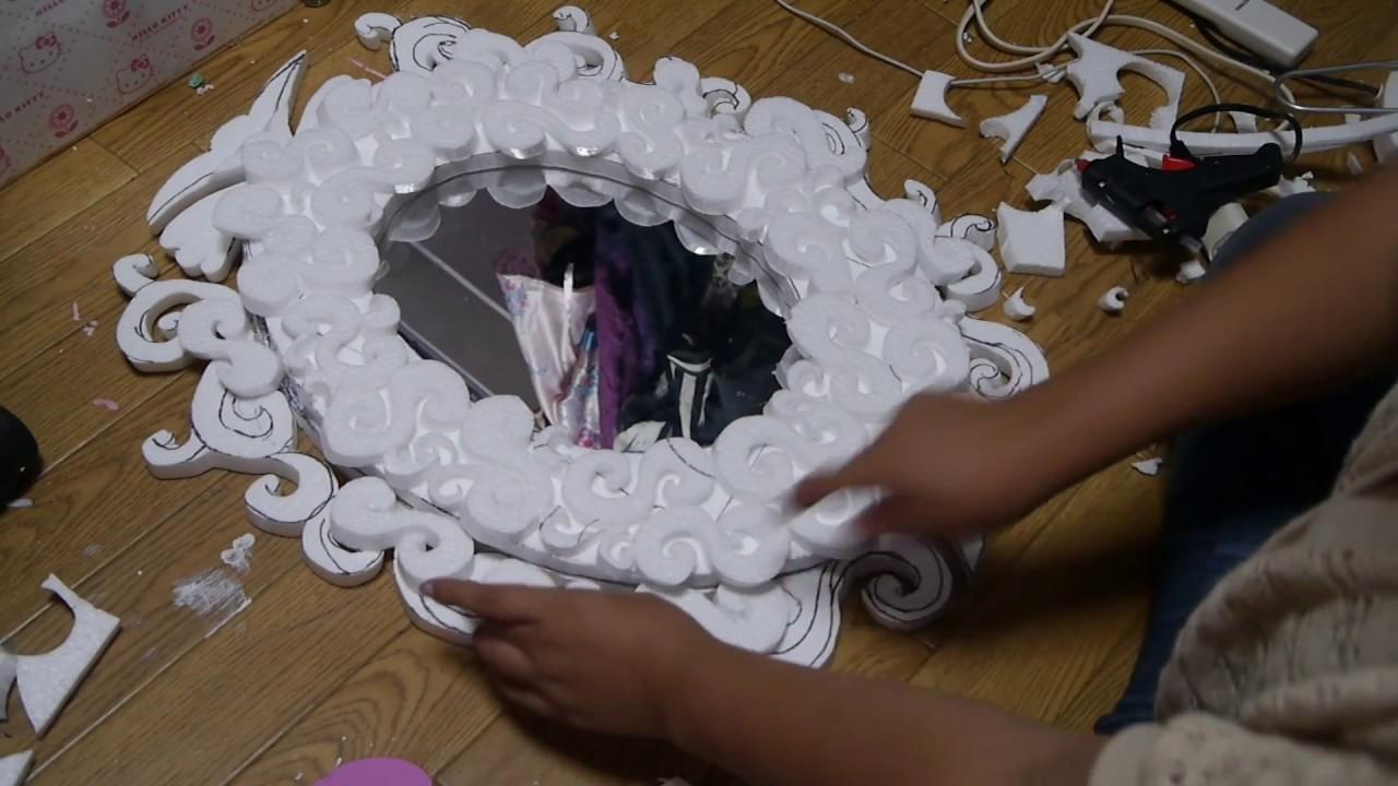 Habitacion Decoracion Vintage ~ Manualidades Decora tu espejo  Juancarlos960  YouTube