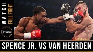 Spence Jr. vs van Heerden FULL FIGHT: September 11th, 2015 - PBC on Spike