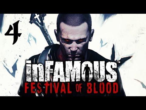 Infamous: Festival of Blood Walkthrough HD (Part 4)