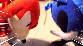 Sonic Plush: Knuckles 3 & Knuckles