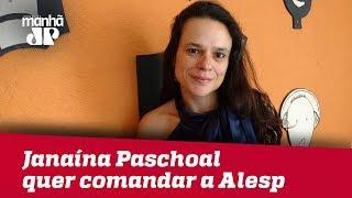Janaína Paschoal confirma candidatura ao comando da Alesp: 'SP me elegeu presidente'