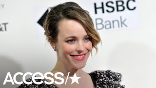 Rachel McAdams Stuns In Versace & Diamonds While Breast Pumping