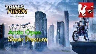 Trials Fusion - Arctic Open - Shear Pressure Track Challenge