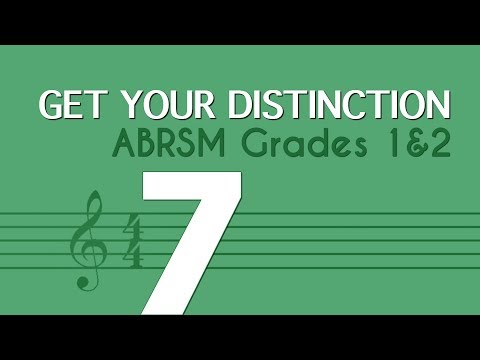 Learn music theory 7 - tones and semitones - ABRSM Grades 1 and 2