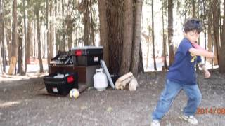 2014 0829 Huntington Lake Camping