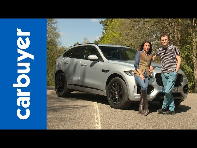 New Jaguar F-Pace 2016 review - Carbuyer - YouTube