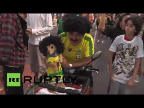 Brazil: Copacabana protesters decry World Cup