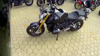 Quick walkaround BMW R 1200 R 2015, pure engine sound