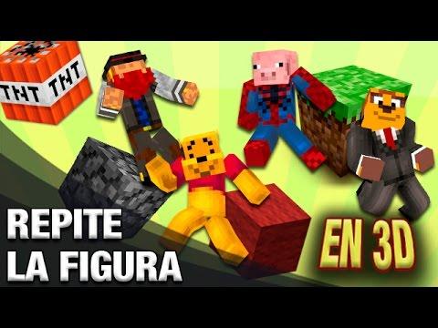 REPITE LA FIGURA | MINECRAFT Blitz Build