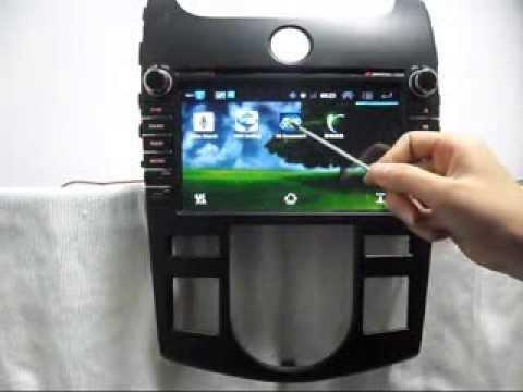 Kia Forte Android Car DVD Player GPS Navigation Wifi 3G TV
