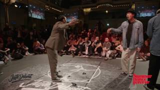 Finał Popping - JUSTE DEBOUT HOLLAND 2017