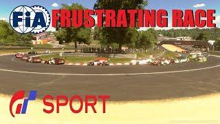 GT Sport Frustrating Race - FIA Nations Round 1 Season 3 Top Split