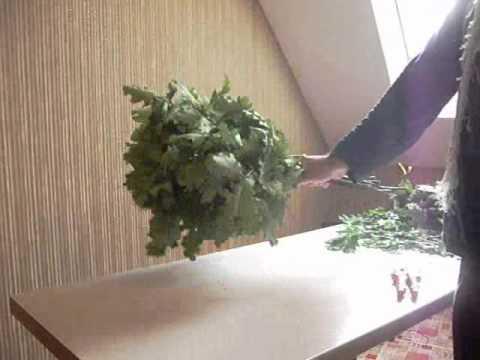 Как вязать веник в домашних условиях