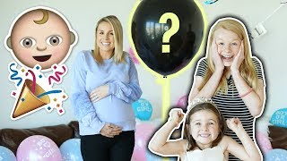 BABY GENDER REVEAL TO KiDS! 💗💙 BOY OR GiRL?