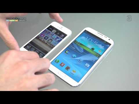 Samsung Galaxy Note 2 VS Apple iPhone 5
