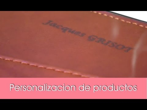 Personalizacion de productos