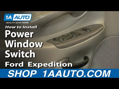 How To Install Replace Power Window Switch Ford F150 Expedition 97-03 1AAuto.com