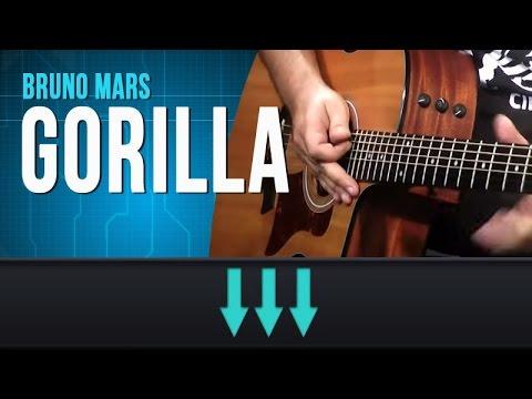 Bruno Mars - Gorilla (como Tocar - Aula De Guitarra E Violão) video