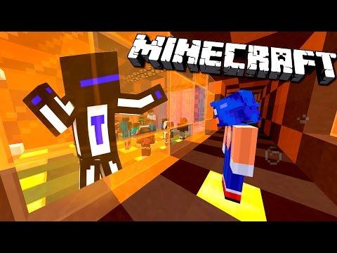 За стеклом - Minecraft Death Run #11