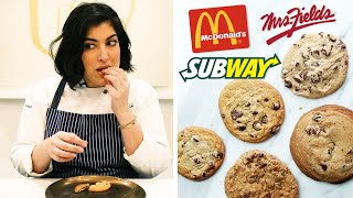 Cookie Expert Reviews Fast Food Chocolate Chip Cookies