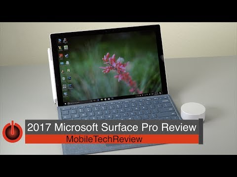 2017 Microsoft Surface Pro Review