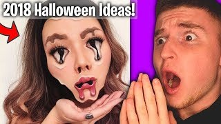 The SCARIEST Halloween Makeup Ideas Of 2018! (How did they do this)