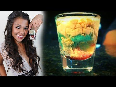 How to make the Alien Brain Hemorrhage Shot!  -  Tipsy Bartender