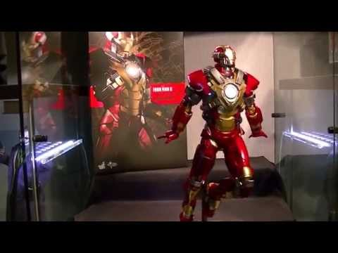 Hot Toys Iron Man Mark 17 Heart Breaker