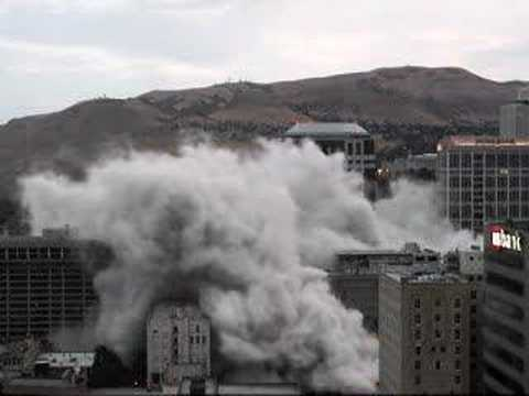 Key Bank Demolition Implosion DV version