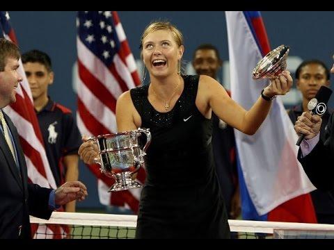 Maria Sharapova vs Justine Henin 2006 US Open Highlights