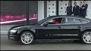 Brand-new Audi cars 2015