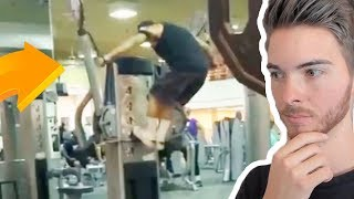 THESE PEOPLE DONT KNOW HOW TO GYM   Try Not to Cringe   The Gym Fails