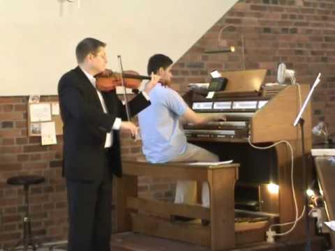"Gabriel's Oboe (z filmu ""Misja"") - Enio Morricone (skrzypce + organy)"