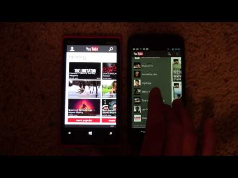 YouTube App - Windows Phone vs Android
