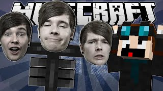 I AM THE WITHER   Minecraft: Wither Assault Minigame!