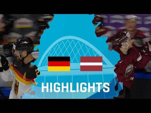 Germany - Latvia   Highlights  #IIHFWorlds 2017