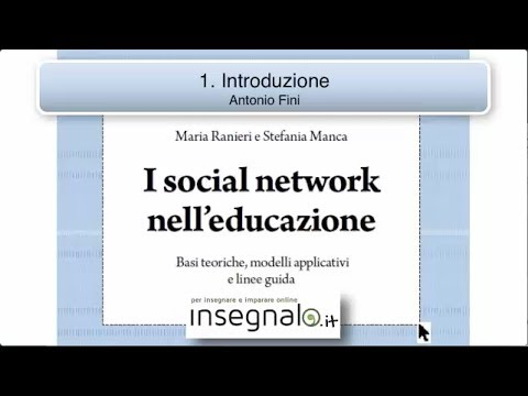 I Social Network nell'educazione – 1. Introduzione di Antonio Fini