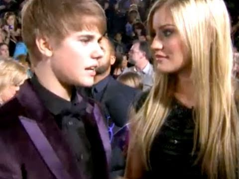 NEVER SAY NEVER! Justin Bieber's purple carpet movie premiere Music Videos