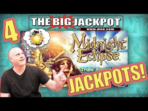 4 JACKPOT$ 🔥HUGE HIT on $400 SPIN 🌖Midnight Eclipse PAY$ OUT! | The Big Jackpot