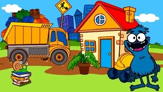 Мультфильм про Синий трактор - песенки для детей онлайн